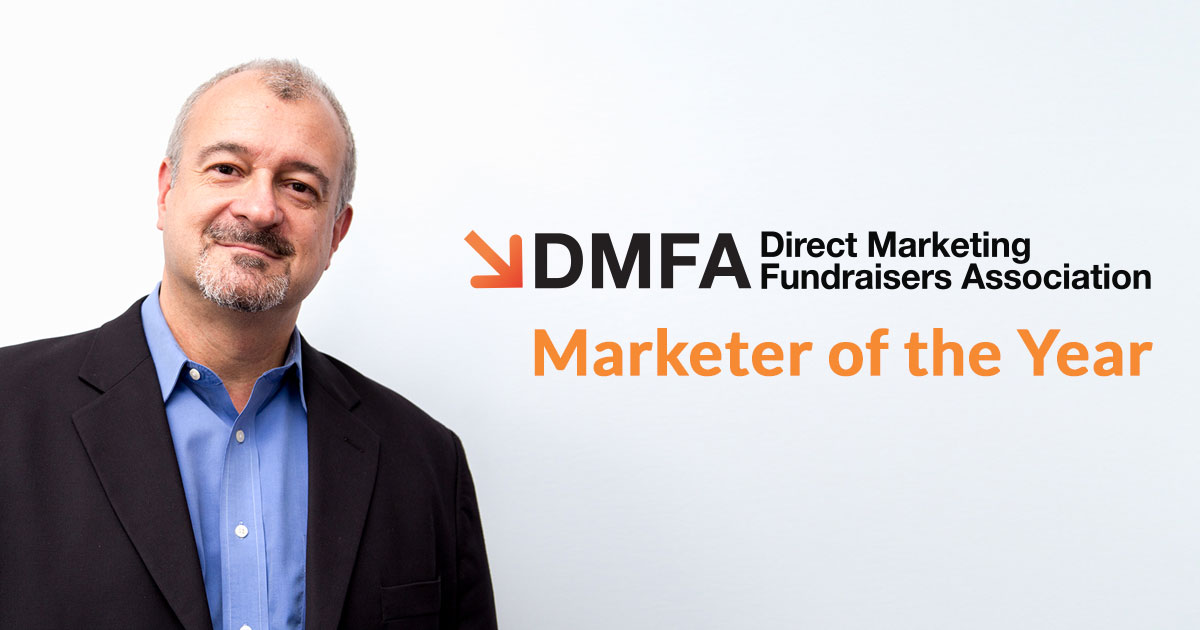 Harry Lynch is a DMFA Marketer of the Year