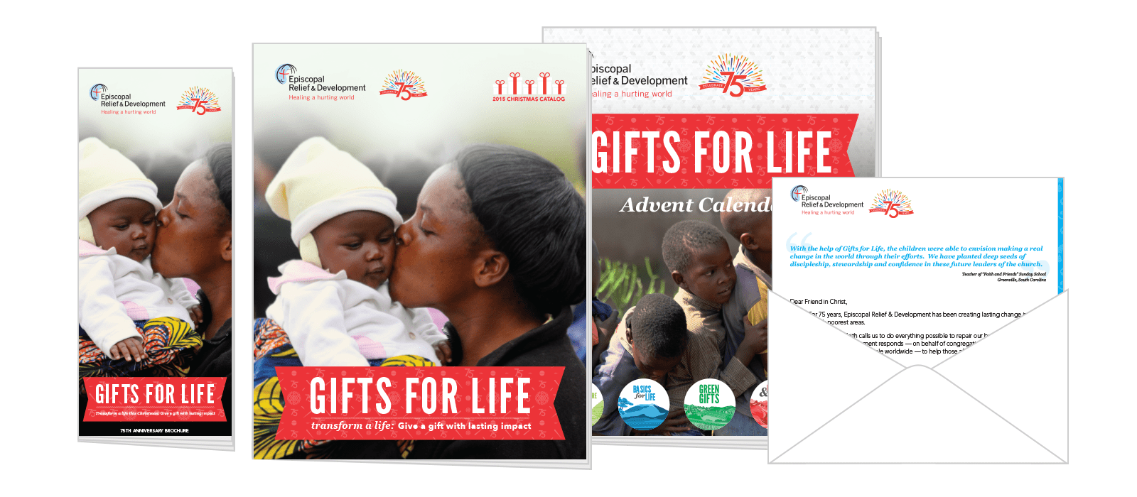 income from the catalog went up significantly and Gifts for Life continues to be a wonderful way for supporters to make a difference. On top of that, ...